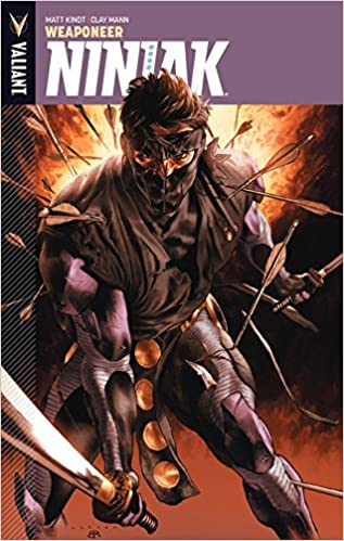Ninjak Volume 1: Weaponeer: Amazon.es: Matt Kindt, Clay Mann ...