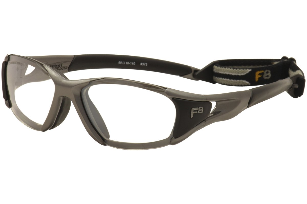 a46f396f712 Rec specs velocity size a satin gunmetal black clear silver racquetball goggles  sports outdoors jpg 1200x799