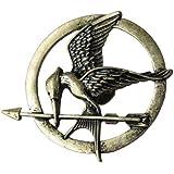 Fashion-Broche en Laiton pour Femme ou Homme en Motif de Hunger Games Ridicule Bird Style PUNK ROCk Vintage