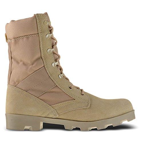 Ameritac 9 Quot Side Zip Suede Leather Combat Work Outdoor Men