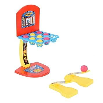 Zerodis- Juguete de Tiro de Baloncesto, Mini Juegos de Baloncesto ...
