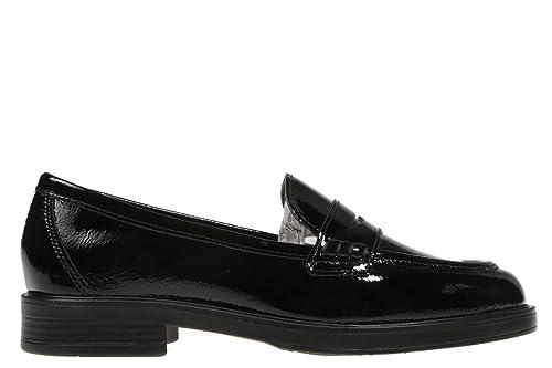 Rebecca Hope - Mocasines -Color Negro-Mujer-Talla40: Amazon.es: Zapatos y complementos