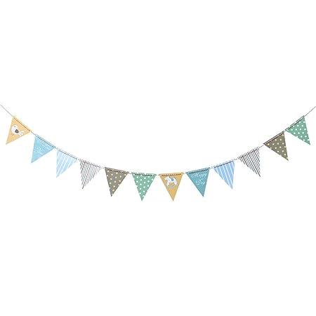 MARCU Home Cumpleaños Bunting Banner Lindo Papel Decorativo ...