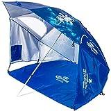 Corona Always Summer Beach Cabana Umbrella, Blue