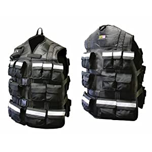 GoFit Pro 20lb or 40lb Weighted Vest with Double Closure System