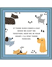 Dog Memorial Gifts | Sympathy & Remembrance Gift for Loss of a Pet | Unique Keepsake for Dogs | 7X7 Tile Artwork | Grieving Ornaments for Dogs