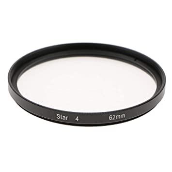 62mm 4 Point Star Effect Filter