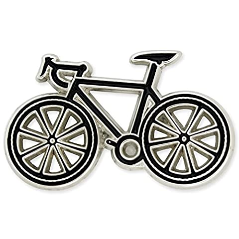 PinMart's Bicycle Biking Cycling Trendy Enamel Lapel Pin - Bike Brooch Pin