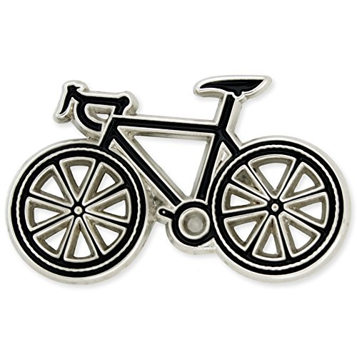 Bike Pin (PinMart's Bicycle Biking Cycling Trendy Enamel Lapel Pin)