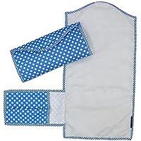 Wobbly Walk Diaper Changing Mat/Clutch Mat (Blue)