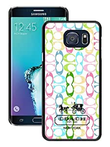 Samsung Galaxy Note 5 Edge Case ,Hot Sale And Popular Designed Case With Coach 14 Black Samsung Galaxy Note 5 Edge Screen Case