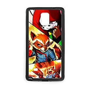 With The Raccoon War For Samsung Note4 Gel Slim Phone Case For Kids Choose Design 5