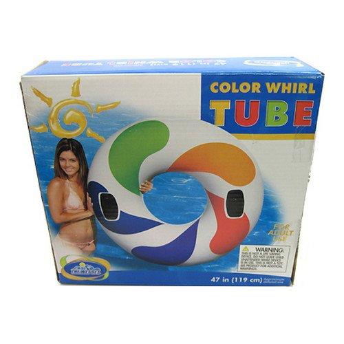 Intex color whirl tube 48 inch home garden pool spa pool for Intex gartenpool