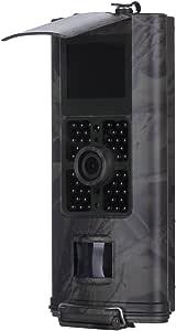 CUTICATE 16MP Waterproof Hunting Camera 1080P HD Adjustable Glow LED Trail Camera