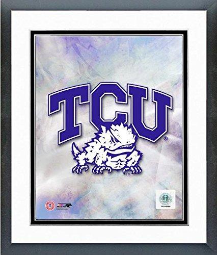 "Texas Christian Horned Frogs 2009 Team Logo Photo (Size: 12.5"" x 15.5"") Framed"