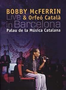 Bobby Mcferrin Y El Orfeo Catala: Live In Barcelona (Palau De La Musica Catalana) ; Mcferrin, Orfeo Catala (Cd+Dvd)
