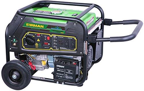 Firman RD9000E 9,000-Watt Dual Fuel Generator (Gasoline or LP) with Electric Start