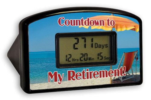 BigMouth Inc Countdown Timer - Retirement Red Chair (Blister)