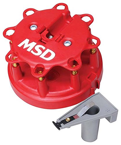 Distributor Cap Rotor Set - MSD 8450 Cap-A-Dapt Distributor Cap and Rotor Kit