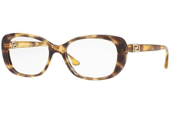 94f5fcf421 Amazon.com  Versace Women s VE3234B Eyeglasses 53mm  Clothing