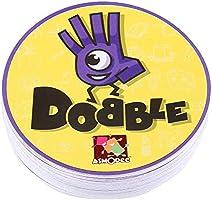 Juego de Mesa DOBBLE Spot Sport & Alphabet para niños diversión Familiar Doble Find it English Version - Multicolor: Amazon.es: Juguetes y juegos