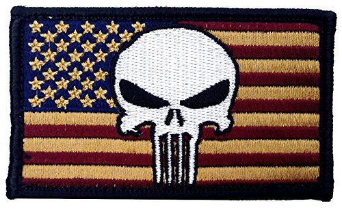 Rectangle Patriotic National Velcro Patch product image