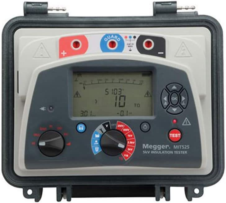 Wishwin Digital Thickness Gauge Portable High-Resolution Meter Measurement Tool in Inches Or Millimeters Ranging from 0mm to 12.7mm