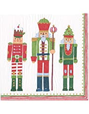 Caspari March of the Nutcrackers Paper Napkins