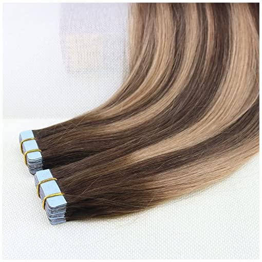 Beautymiss 14 24 40pcs 100g100 Straight Remy Hair Tow Tone 4 Dark