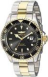 Invicta Men's 'Pro Diver' Quartz Stainless Steel Diving Watch, Color:Two Tone (Model: 23229)