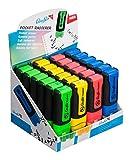 Läufer Blister Card Pocket Eraser Rot/grün/Blau/Gelb
