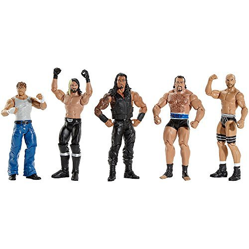 Image of WWE Basic Series Fan Favorite Action Figure 5-Pack