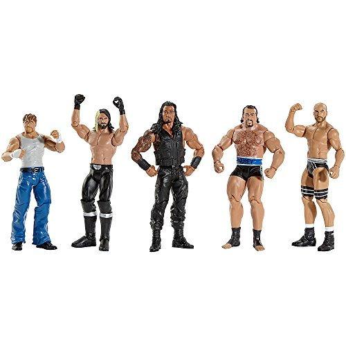 [Mattel] Mattel WWE Basic 5 Fan Favorites Figure Multipack CJL28 [parallel import goods] by Mattel