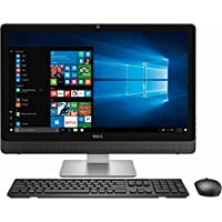 Dell Flagship Inspiron All-in-One Desktop PC,23.8' Full HD Touchscreen, Intel i7-7700T 2.9 Ghz Processor, 256GB SSD, 12GB RAM, DVD+RW, Bluetooth, Wireless-AC, HDMI, Win 10, wireless Keyboard & Mouse