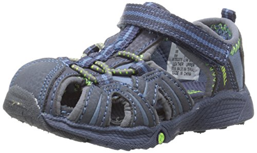 Merrell Hydro Water Sandal (Toddler),Navy/Green,5.5 W US