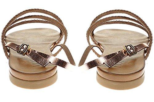 Inuovo 6203 - Damen Sandalette Pantolette - shiny-blush