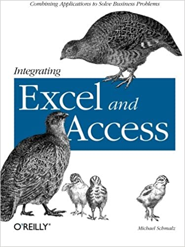 Integrating Excel and Access Combining Applications to Solve Business Problems