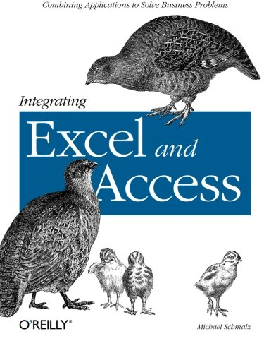 Integrating Excel Access Combining Applications product image