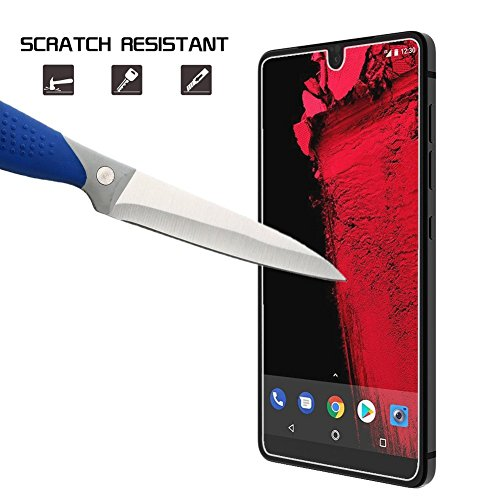 Huawei Honor 8 Glass Screen Protector, Loopilops Huawei honor 8- [9H Hardness] [Advanced Definition] [Scratch Resistance] [Bubble Free] Tempered Glass Screen Protector