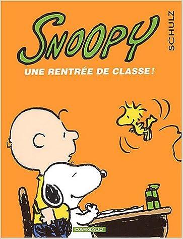 Snoopy tome 35 une rentree de classe