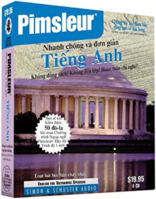 Pimsleur English for Vietnamese Speakers Quick & Simple Course - Level 1 Lessons 1-8 CD: Learn to Speak and Understand English for Vietnamese with Pimsleur Language Programs (Vietnamese Edition)