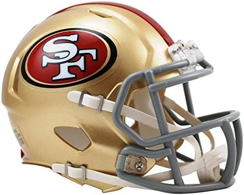 the latest 57276 db7b2 Riddell San Francisco 49ers Speed Mini Helmet