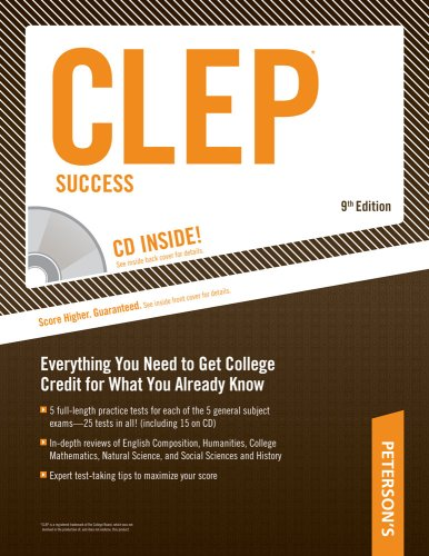 Peterson's CLEP Success (Book & CD-ROM)