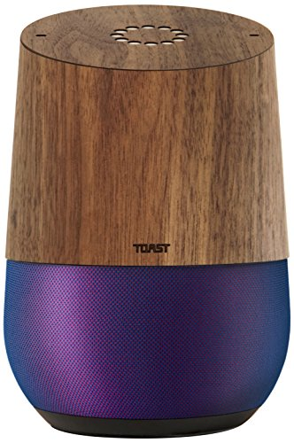 TOAST GLH-PLA-01 Real Wood Cover for Google Home ()