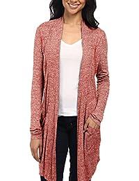 HyBrid & Company Womens Kimono Casual Open Front Drape...