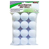 PrideSports Practice Golf Balls, Hollow, 12 Count