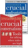 img - for Crucial Conversations and Crucial Confrontations Value Pack by Kerry Patterson (2005-05-03) book / textbook / text book