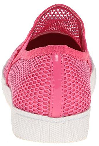 Wilde Schoenen Dames Carnegie Mode Sneaker Fuchsia