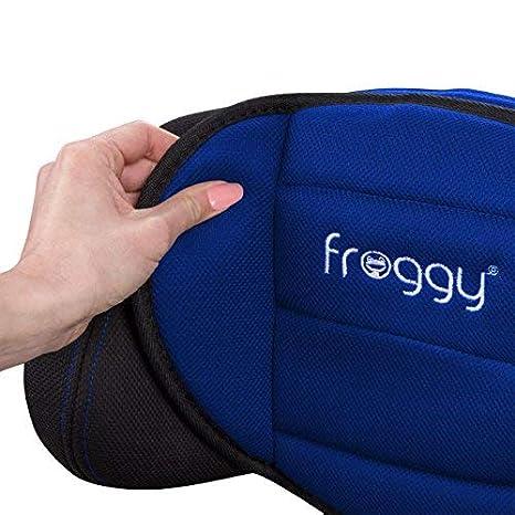 9-36 kg 5-Punkte-Sicherheitsgurt verstellbare Kopfst/ütze Blau Froggy/® Autokindersitz Gruppe I//II//III + Sicherheitsnorm ECE R44//04
