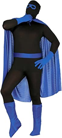 Kit disfraz de superhéroe azul: Amazon.es: Juguetes y juegos